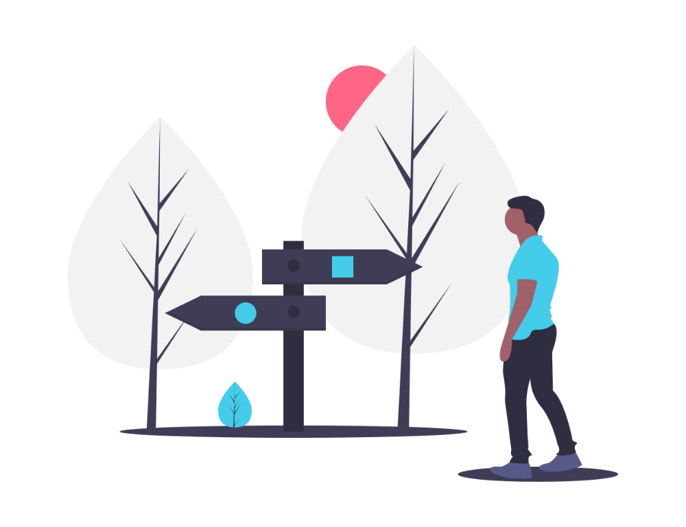 two_directions_signs_illustration
